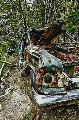 Abandon Car Art Print by Greg Horler