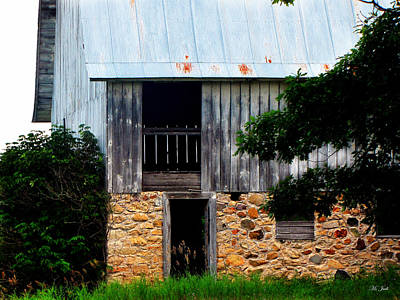 Photograph - Abandon Dairy Barn  by Ms Judi