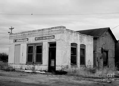 Abandon Gas Station 1 Art Print
