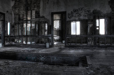 Photograph - Abandoned by Andrew Pacheco