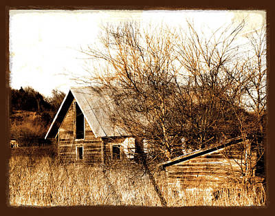 Photograph - Abandoned Barn  by Ann Powell