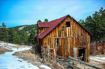 Photograph - Abandoned Barn Ll by Shannon Harrington