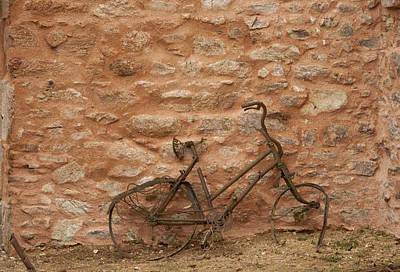 Abandoned Bike Art Print