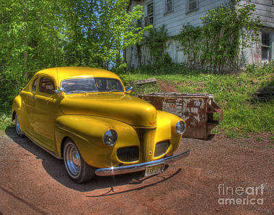 Photograph - Abandoned Classic by Lee Dos Santos