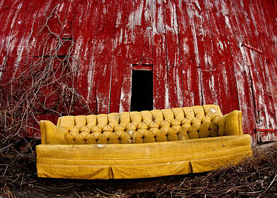 Stellar Interstellar Royalty Free Images - Abandoned Couch Royalty-Free Image by Cale Best