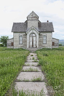 Abandoned Countryside Church Art Print by Dave & Les Jacobs