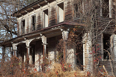 Photograph - Abandoned Dilapidated Homestead by John Stephens