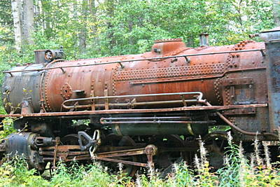 Photograph - Abandoned Engine by Pamela Walrath