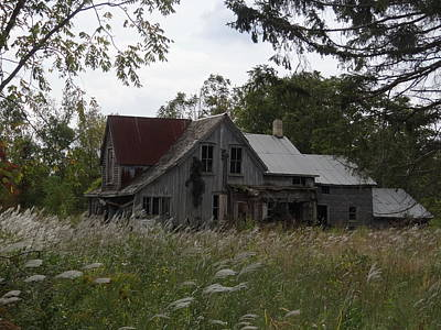 Mixed Media - Abandoned Farmhouse 1 by Bruce Ritchie
