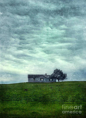 Abandoned Farmhouse Print by Jill Battaglia