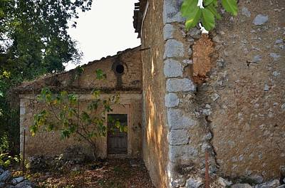 Photograph - Abandoned House by Dany Lison