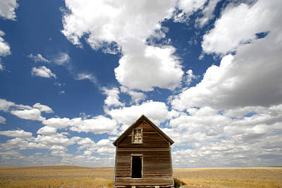 1 Object Photograph - Abandoned House, Saskatchewan by Robert Postma