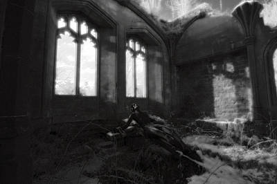 Medieval Temple Photograph - Abandoned by Matt Nuttall