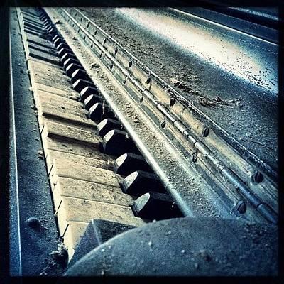 Piano Wall Art - Photograph - #abandoned #music #igmusic #piano #old by Meeshi Sense