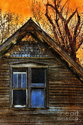 Abandoned Old House Art Print by Jill Battaglia