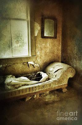 Abandoned Parlor Print by Jill Battaglia