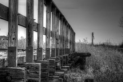 Photograph - Abandoned Railway  by Lisa Knechtel