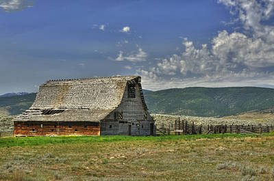 Photograph - Abandoned Ranch by Don Wolf