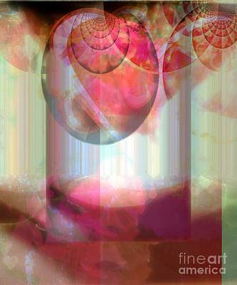Abandoned Rose - Not Seperate From Illusion Art Print by Fania Simon