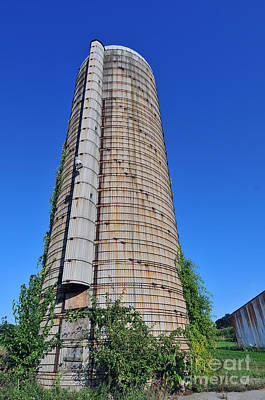 Spot Of Tea Royalty Free Images - Abandoned Silo Royalty-Free Image by Terri Winkler