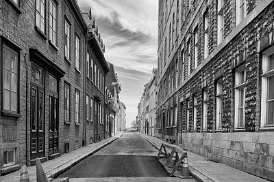 Art Print featuring the photograph Abandoned Street by Eunice Gibb