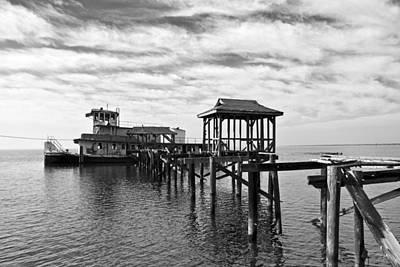 South Louisiana Photograph - Abandoned Tug by Scott Pellegrin