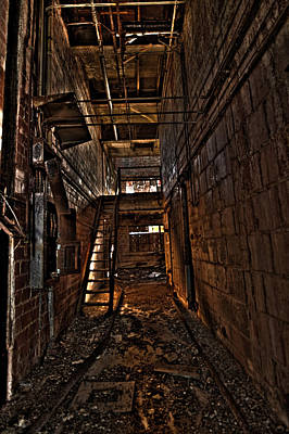 Photograph - Abandoned Warehouse Hdr by Jason Blalock