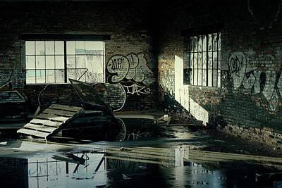 Photograph - Abandoned Warehouse by Scott Hovind