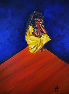 Painting - Abandono by Yesi Casanova