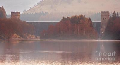 Howden Reservoir Photograph - Abbey Island by Nigel Hatton