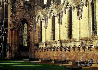 Abbey Ruins Art Print