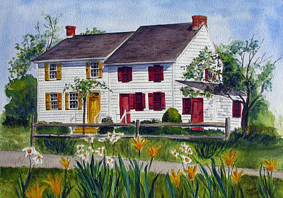 Painting - Abbott House by Clara Sue Beym