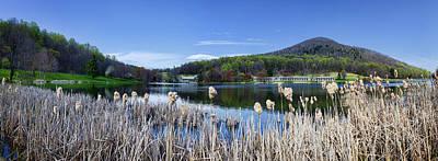 Lake Blue Ridge Photograph - Abbott Lake At Peaks Of Otter - Bedford - Va by Steve Hurt