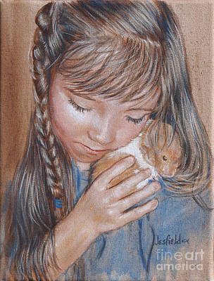 Painting - Abbys Love by LeRoy Jesfield