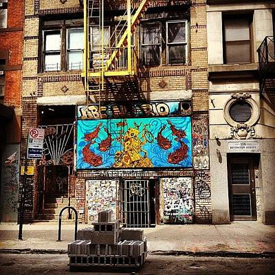 Landscapes Photograph - Abc No Rio - Lower East Side - New York City by Vivienne Gucwa