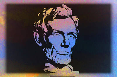Abe Art Print by Bill Cannon