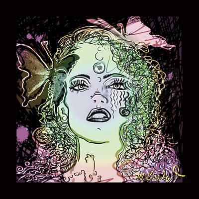 Abigail Marie Art Print by Melissa Wyatt
