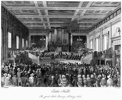 Abolition Convention, 1840 Art Print by Granger