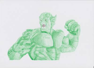 Abomination Drawing - Abomination by Toni Jaso
