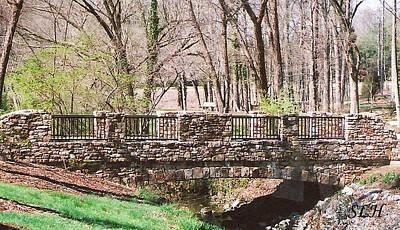 Photograph - Aboratorium Bridge by Lee Hartsell