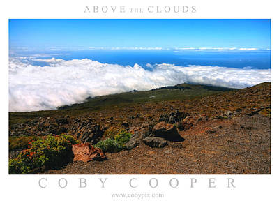 Photograph - Above The Clouds by Coby Cooper