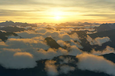 Photograph - Above The Clouds by Mark Greenberg