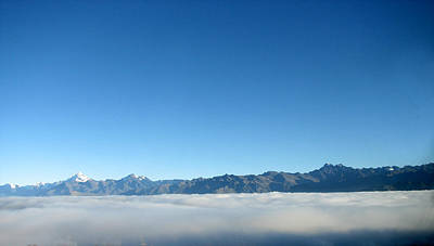 Holmberg Photograph - Above The Clouds by Norm Holmberg