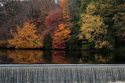 Photograph - Above The Dam by Barry Doherty
