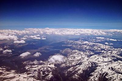 John Denver Photograph - Above The Rockies by David Dehner