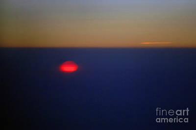 Above The Sunset Art Print by Gib Martinez