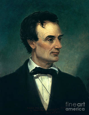 Abraham Lincoln, 16th American President Art Print by Photo Researchers, Inc.
