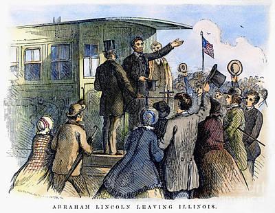 Abraham Lincoln (1809-1865) Art Print by Granger