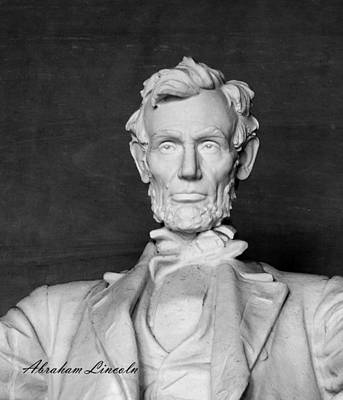 Photograph - Abraham Lincoln by David Lester