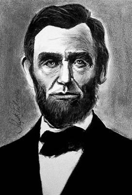Abraham Lincoln Original by Sujith Puthran